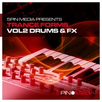 Trance Forms Vol. 2 - Drums & FX - Fresh punchy drum sounds, massive swirling FX and state of the art MIDI