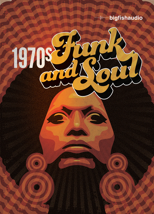 1970's Funk and Soul - 14 huge construction kits overflowing with retro 1970's style!
