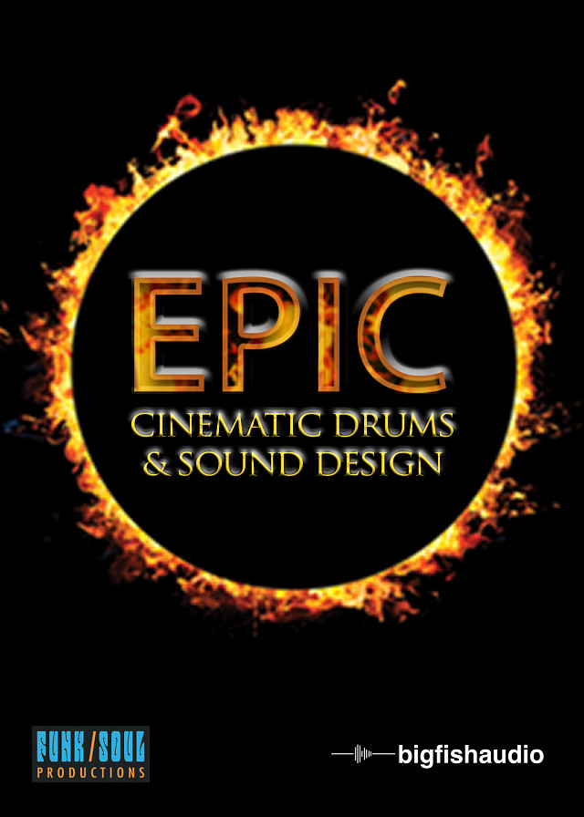Epic: Cinematic Drums & Sound Design - A flexible cinematic drums and sound design VI toolkit