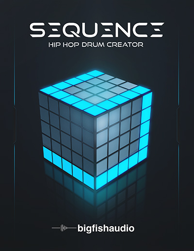 Sequence - Hip Hop drum virtual instrument, step editor, and sound library