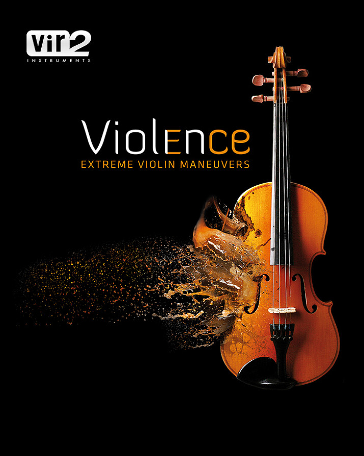 Violence - A Kontakt instrument featuring unusual textures and perspectives on solo violin