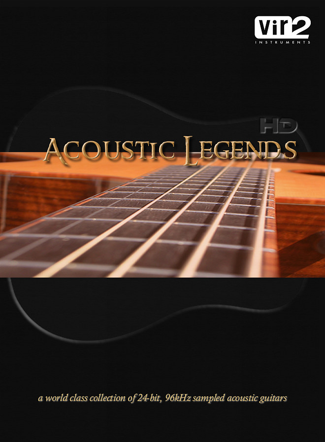 Acoustic Legends HD - A premium 24-bit 96kHz collection of acoustic guitars