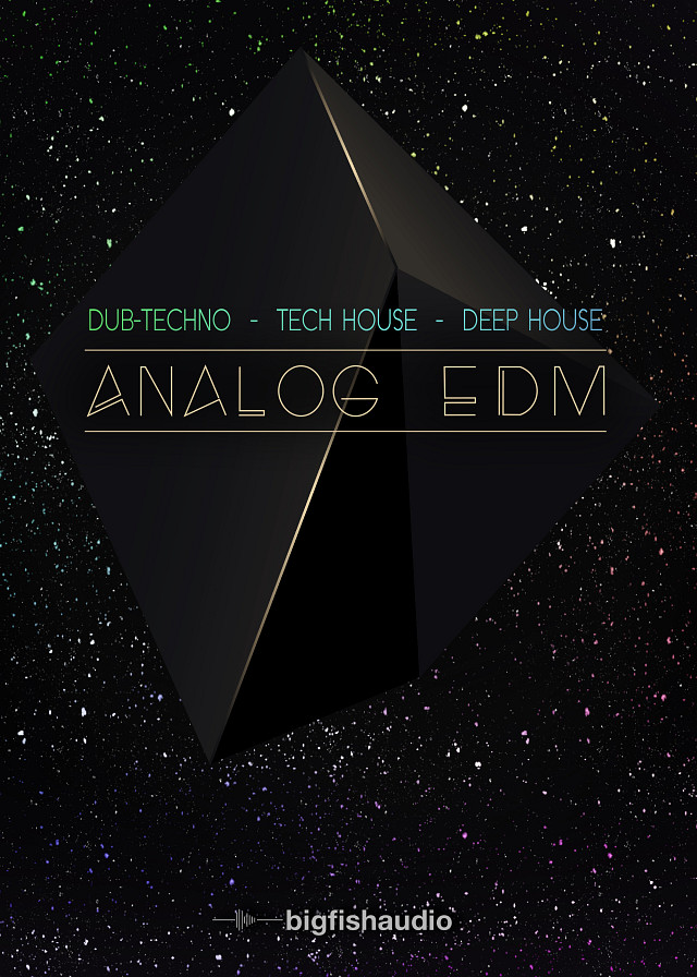 Analog EDM - 50 Analog Dub-Techno, Tech House and Deep House Dance Construction Kits