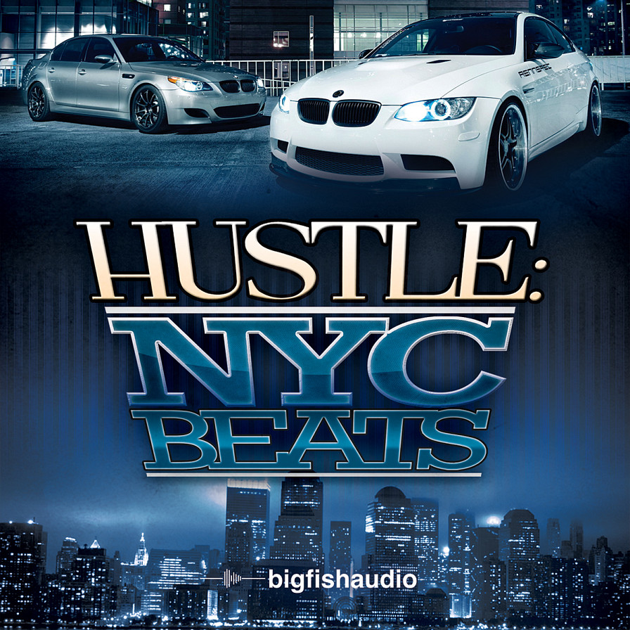 Hustle: NYC Beats - 35 construction kits of pure NYC hip hop