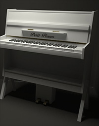Petit Piano - A small 50 keys children piano
