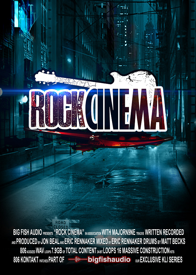 Rock Cinema - Cinematic rock that will fit all genres, from emotional to thrilling