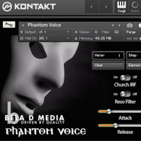 Phantom Voice - A powerful Gregorian style chamber choir instrument