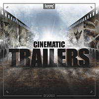 "Cinematic Trailers - Designed - 150+ ""ready to use"" sound effects, impacts, whooshes, transitions and rises"