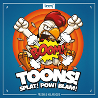 TOONS - The long-awaited sounds of cartoon effects and environments at your fingertips