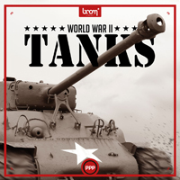 WW2 Tanks - High-quality sound effects library of rare WW2 tanks / panzers