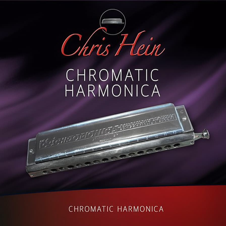 Chris Hein Chromatic Harmonica - The most detailed sampled chromatic harmonica on the planet