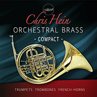 Chris Hein Orchestral Brass Compact - Three trumpets, trombones and french horns in solo and ensemble arrangements
