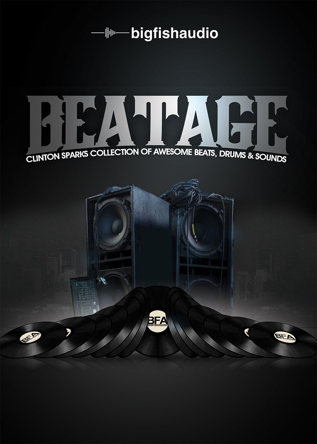 Beatage: Clinton Sparks Collection of Awesome Beats, Drums & Sounds - The newest creation from multi-platinum producer Clinton Sparks