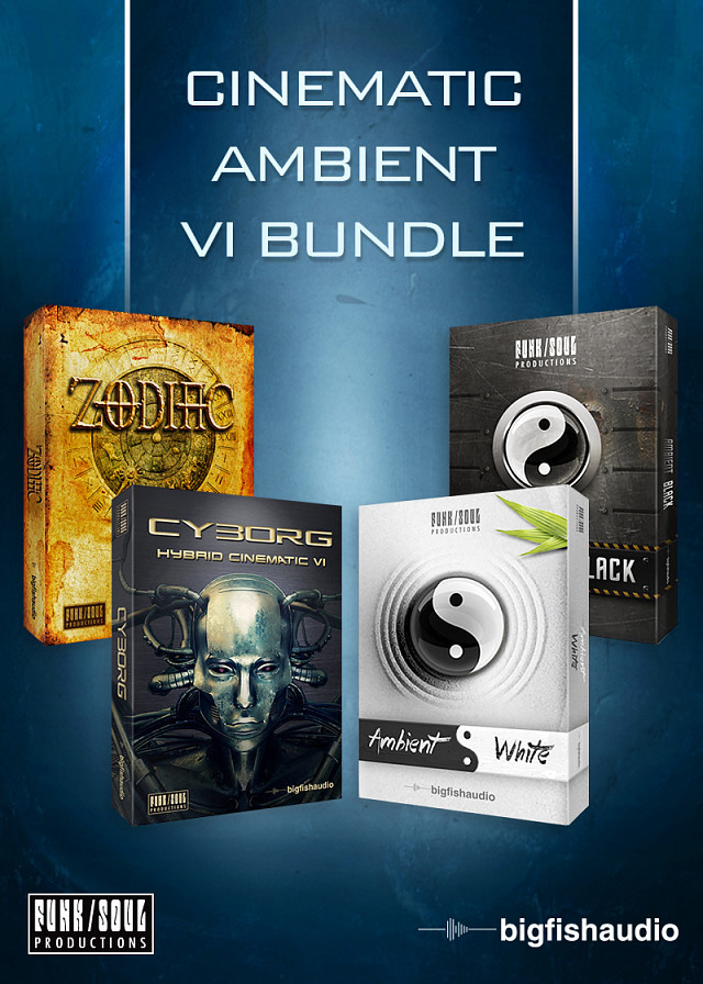 Cinematic Ambient VI Bundle - A unique collection of VI's covering Cinematic and Ambient sound design.