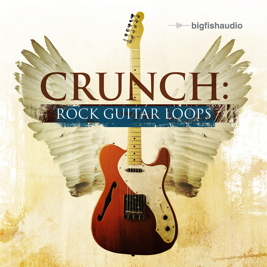 Crunch: Rock Guitar Loops - Nothing but modern and adrenaline filled rock guitar loops