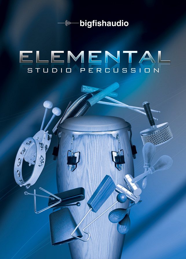 Elemental Studio Percussion - The foundational studio percussion loops and sounds that every producer needs
