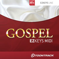 Gospel EZkeys MIDI  - The melancholy of the blues, the heartache of soul, and the subtlety of jazz