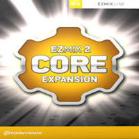 Core Expansion EZmix Pack - Amps, EQs, echoes, reverbs, masters. Expand your EZmix 2 with more of everything