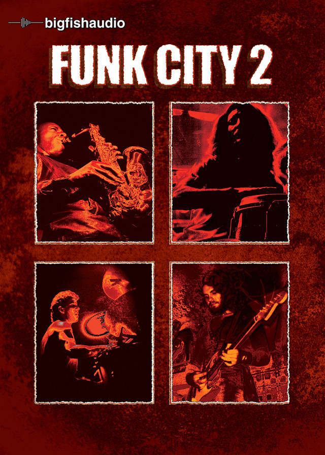 Funk City 2 - Top Notch Funk Construction Kits with a Retro-Funk Vibe of the 70's