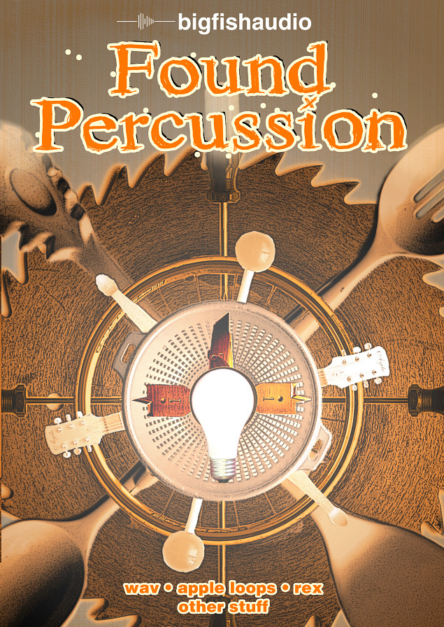 Found Percussion - 6.1 GB of quirky percussion instruments
