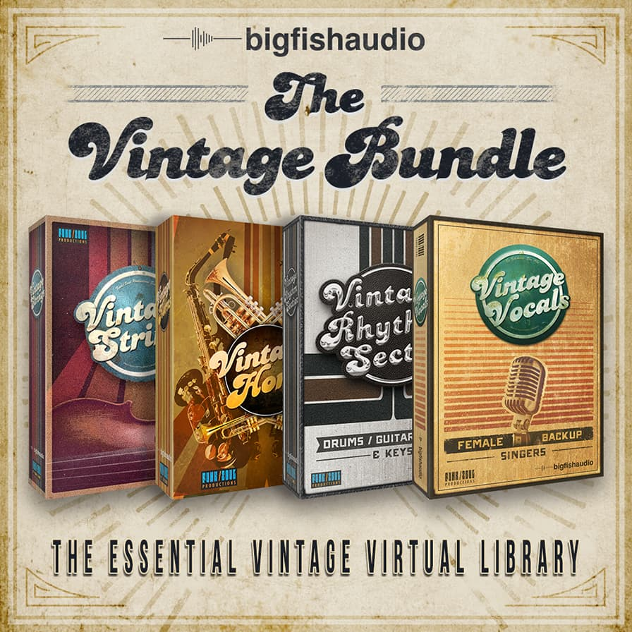 Vintage Bundle, The - A massive bundle of beautifully crafted instruments at an unbelievable price!