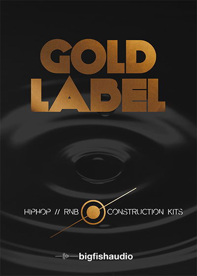 Big Fish Audio - Gold Label: Hip Hop and RnB (REX2, RMX, WAV)