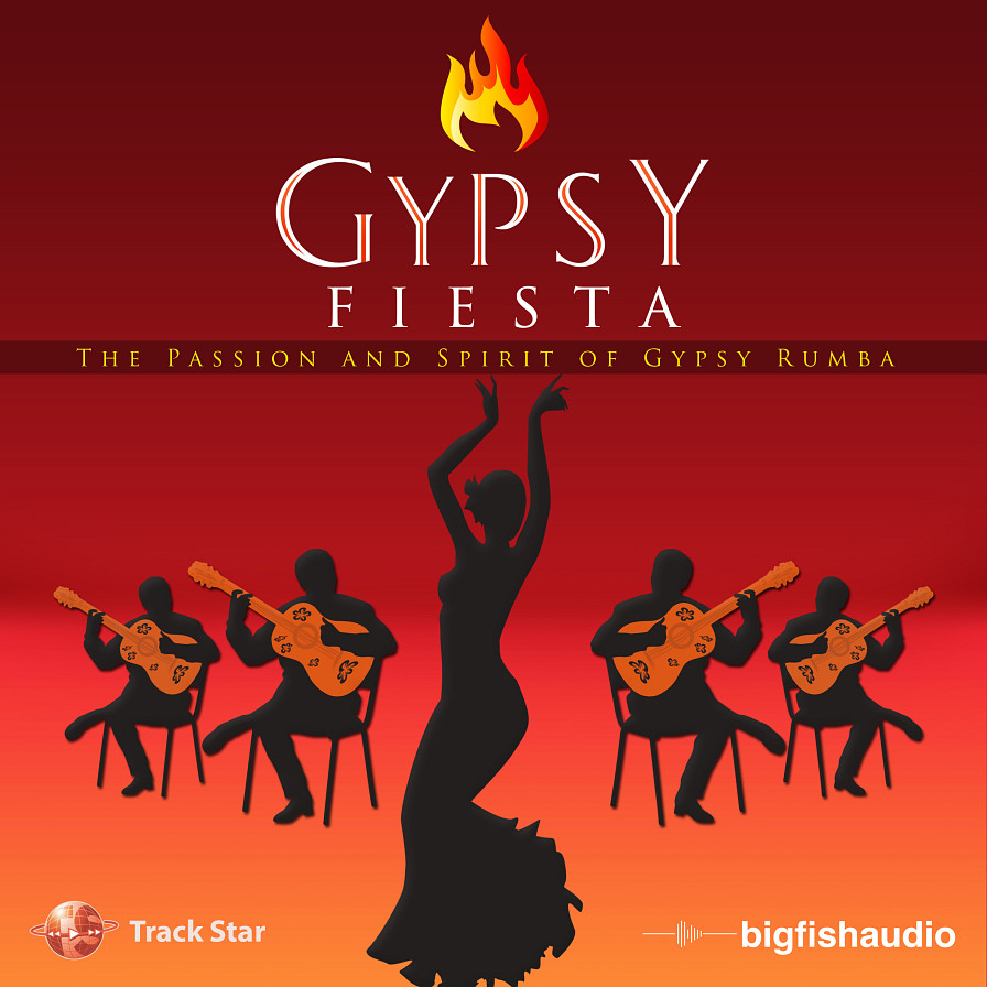 Gypsy Fiesta - 12 kits that capture the Southern French and Catalan Gypsy Rumba sound