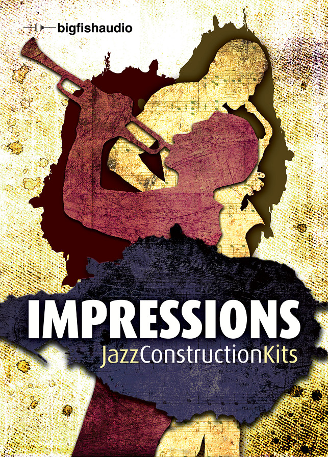 Impressions: Jazz Construction Kits - Played and recorded to perfection, these kits are stunningly beautiful