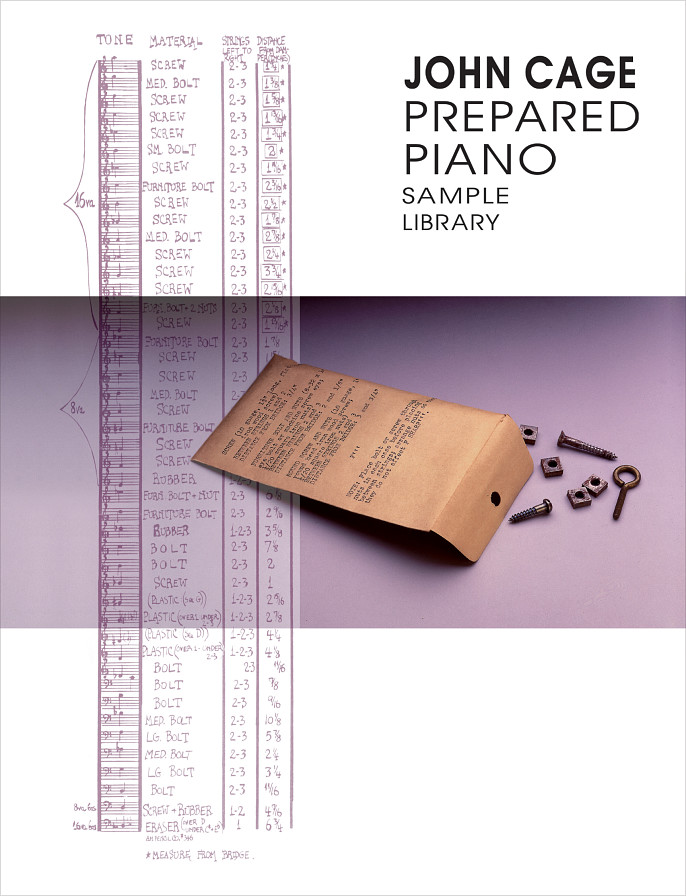 John Cage Prepared Piano - John Cage's prepared piano sounds for his Sonatas & Interludes