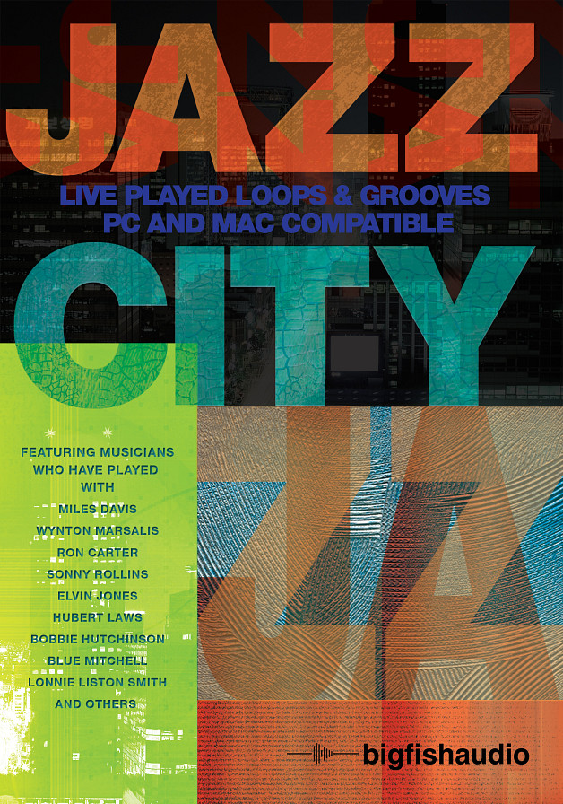 Jazz City - Traditional Jazz loops inspired by classic 1950s and 1960s jazz albums