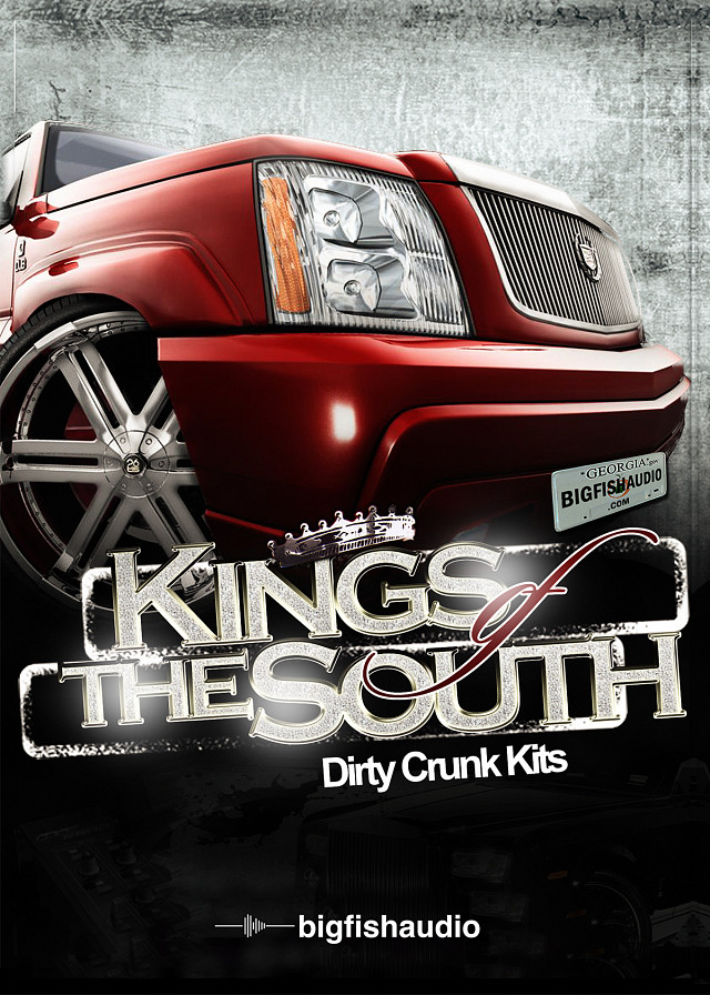 Kings of the South: Dirty Crunk Kits - Dirty South Construction Kits with plenty Crunk flava