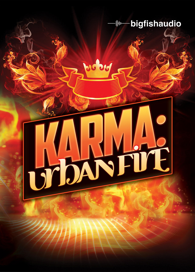 Karma: Urban Fire - 30 construction kits of ethnic infused urban samples