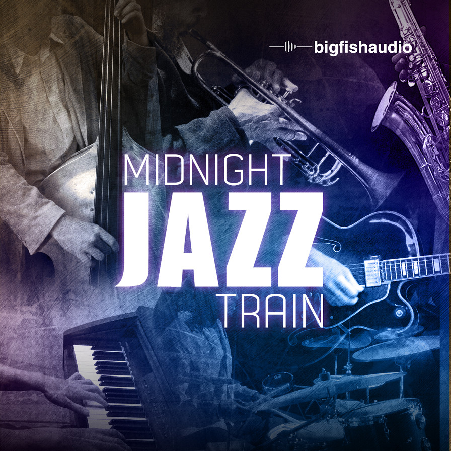 Midnight Jazz Train - 4.7 GB of incredible Jazz loops