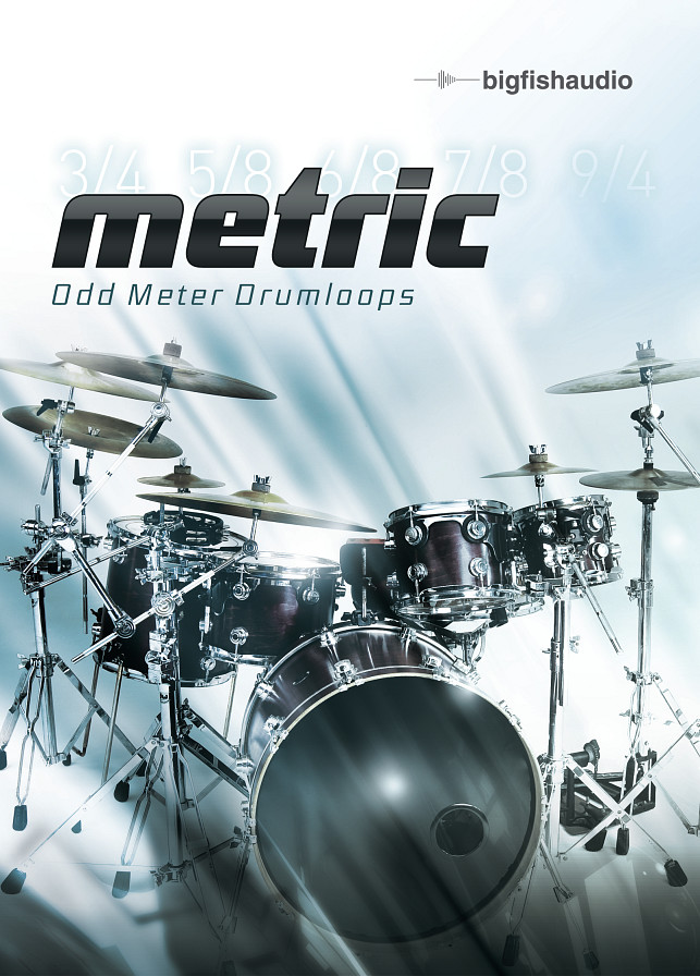 Metric: Odd Meter Drumloops - Metric is the answer to those looking for drums not in 4/4
