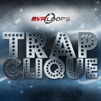 Trap Clique - 660 loops and 218 drum one shots of trap style sounds
