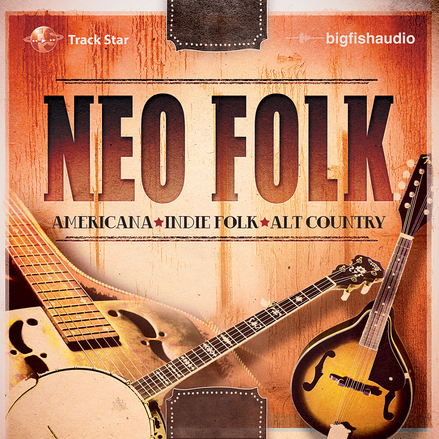 Neo Folk - 24 contemporary Folk construction kits for the modern producer