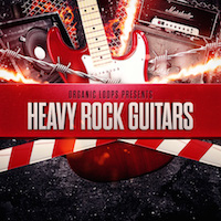 Heavy Rock Guitars - This collection has over 300 distorted guitar loops with a range of sounds