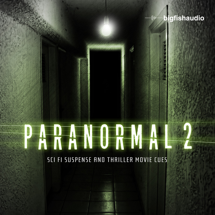 Paranormal 2 - Sci Fi Suspense and Thriller Movie Cue Construction Kits