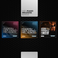 MIDI Piano Melodies Bundle - Combines the three most popular Equinox Sounds MIDI piano collections