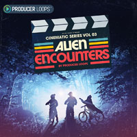 Cinematic Series Vol 3: Alien Encounters - Otherworldly construction kits, SFX and cinematic vocal samples