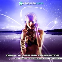 Deep House Progressions Vol.5 - Another outstanding deep and dark set of five multi-format Construction Kits