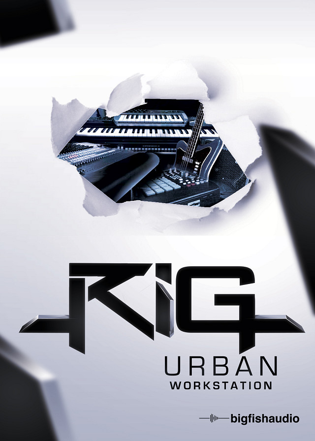 RiG: Urban Workstation - A complete rig of Instruments, Loops and Sound FX for Urban Production