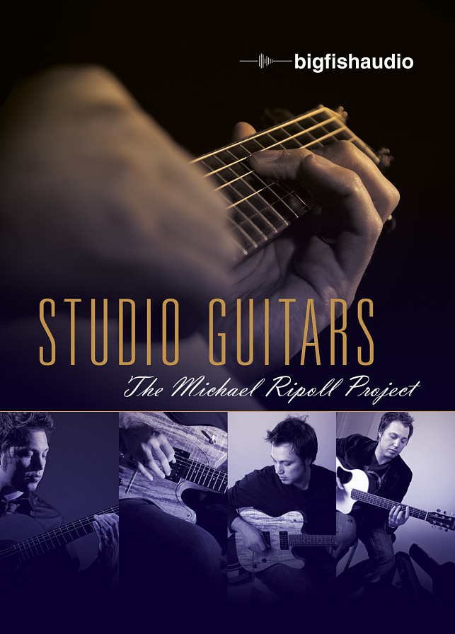 Studio Guitars: The Michael Ripoll Project - Incredible guitar loops and licks for rock, pop, blues, funk, country or jazz