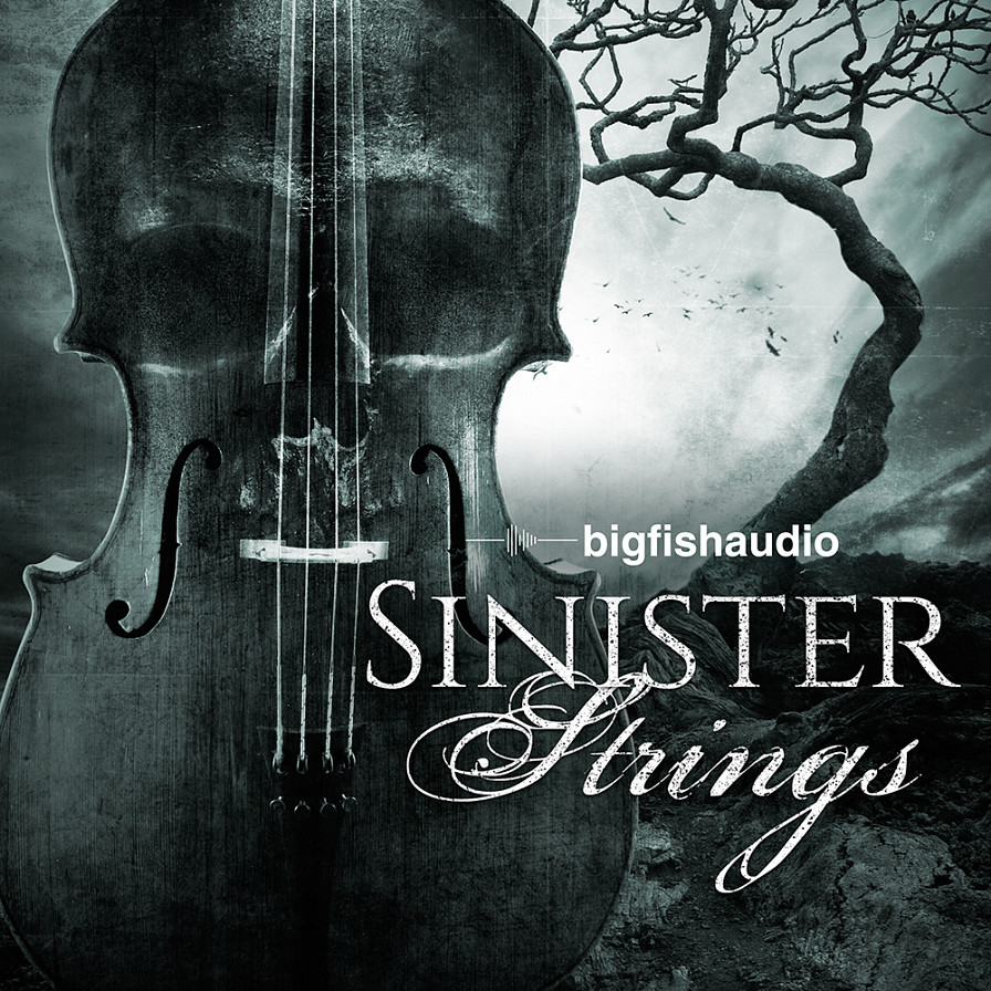 Sinister Strings - 650 MB of tension-filled, orchestral string noises