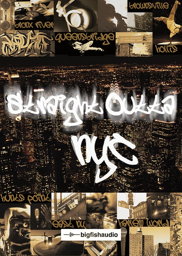Straight Outta NYC - Massive East Coast Hip Hop kits straight from NYC