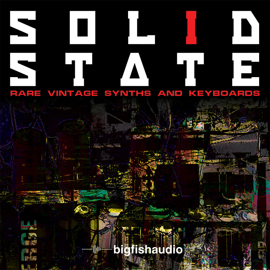 Solid State: Retro Synth Collection - Rare vintage preset keyboards and electro-mechanical devices