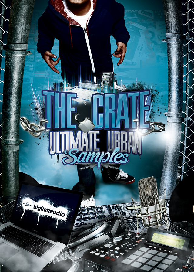 Crate: Ultimate Urban Samples, The - Nearly 7GB's of pure and raw urban samples