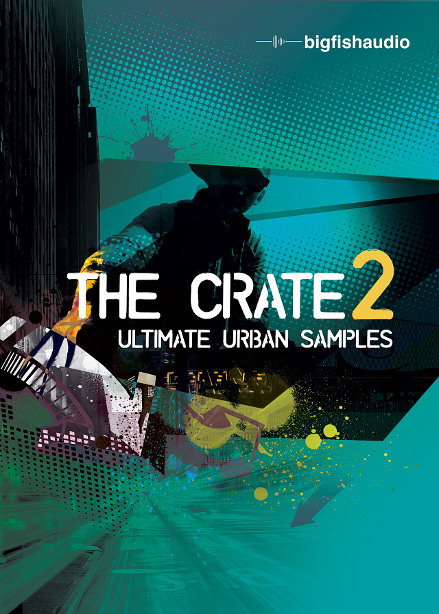 Crate 2: Ultimate Urban Samples, The - Over 9.7 GB of Urban Samples