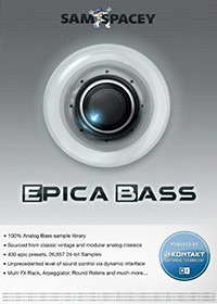 Epica Bass - Dedicated analog bass synth library with saturated harmonically rich textures