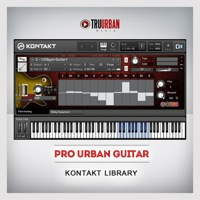 Urban-Pro Guitar Kontakt Library - Real, professional guitar parts to add to your music